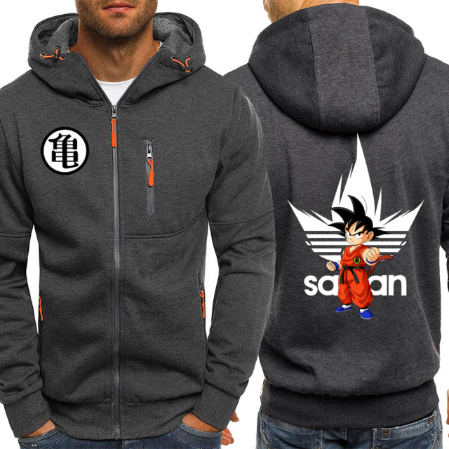 Dragon Ball Z Hoodies Men Japanese Anime DragonBall Z Hoodie Sweatshirt Mens Sportswear Autumn Winter Casual Jacket Hoody
