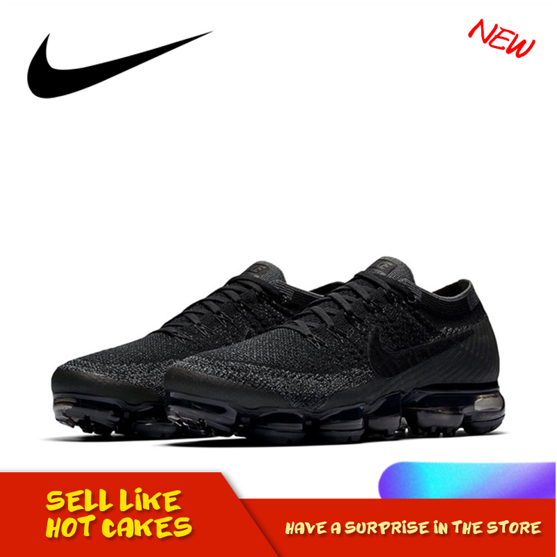 Original Authentic Nike Air VaporMax Be True Flyknit Breathable Men's Running Shoes Comfortable Sport Outdoor Sneakers 849558400