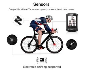 Image 5 - IGPSPORT רכיבה על אופניים אלחוטי מחשב ANT + אופניים מד מהירות IGS618 אופני לב שיעור מהירות קיידנס חיישן מחשב אבזרים