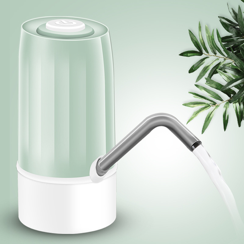 2019 Automatic Electric Portable Water Pump Dispenser Gallon Drinking Bottle Switch Silent Charging in Hand Press Water Pumps from Home Garden