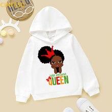 Маленькая королева меланина Милая Черная афроамериканская черная