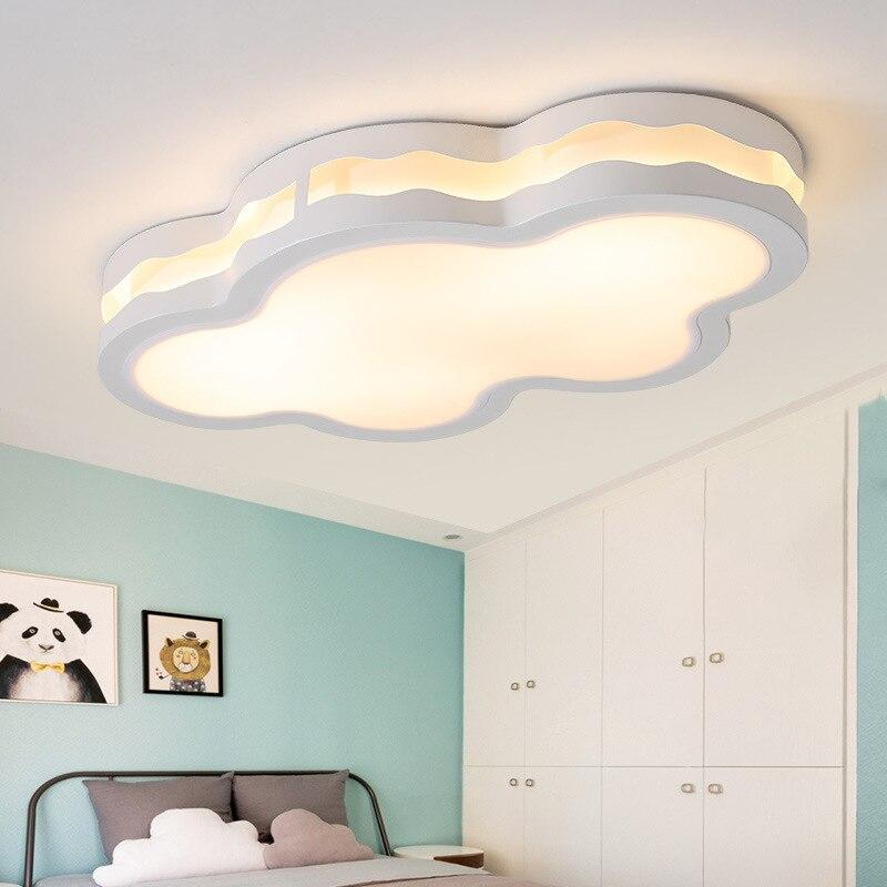 Işıklar ve Aydınlatma'ten Tavan Işıkları'de Led bulut tavan lambası atmosfer oturma odası lambası kişilik ana yatak odası lambası odası romantik sıcak oda çalışma lambası title=
