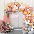 Макарон на день рождения воздушные шары гирлянда арочный комплект вечерние металлической фольги из балон для свадьбы детских празднований...