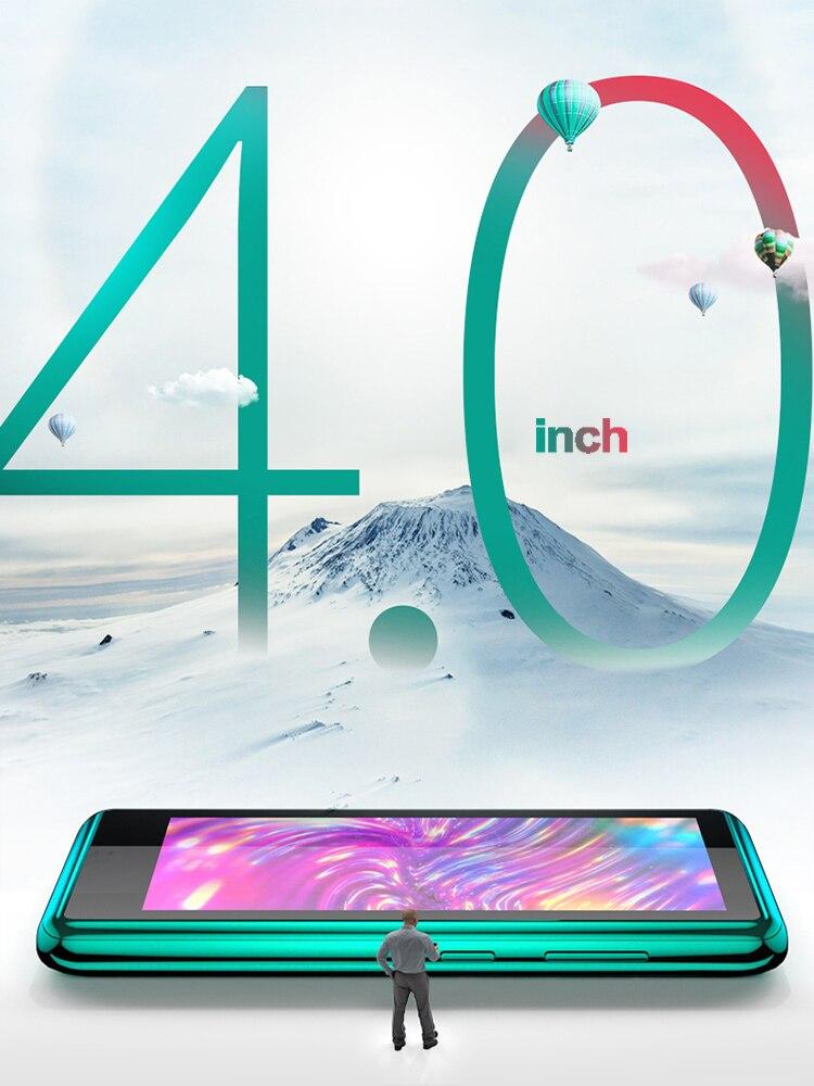 4.0 Inch Bluetooth MP4 Speler Touch Full Screen Ingebouwde Luidspreker Muziekspeler Met Fm E-book Game Video Opnemen media Player 3