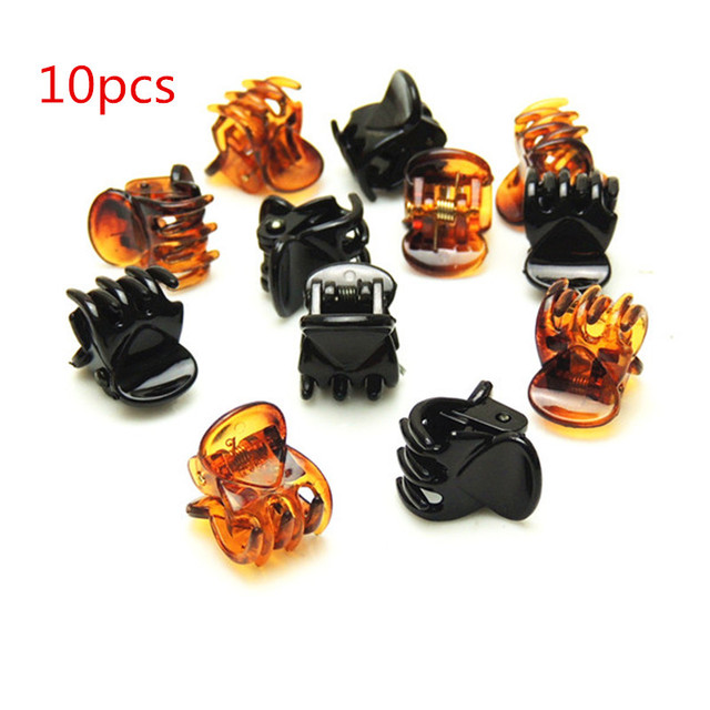 10pc Hair crab claw clip Girls scrunchie hair clips for women headband diademas para el pelo mujer presilha de cabelo hairpin