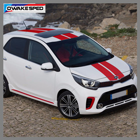 1-set-Racing-Sport-Stripes-Car-Hood-Roof-Tail-Sticker-For-KIA-Picanto-Morning-Auto-Body