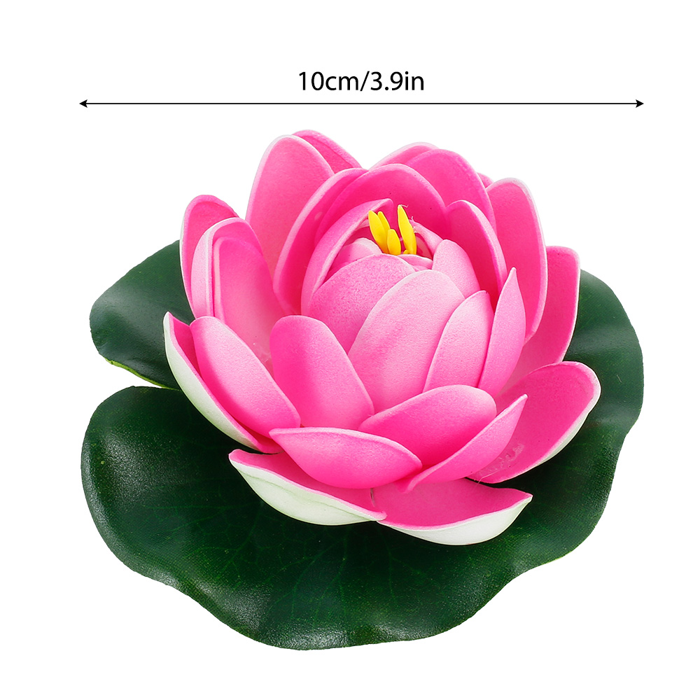 H85cb2e804fe64013b58a5512923ad0aeh - Simulation Lotus Water Lily Decoration Pond Swimming Pool Suitable For Indoor And Outdoor Applications Garden Water Decoration