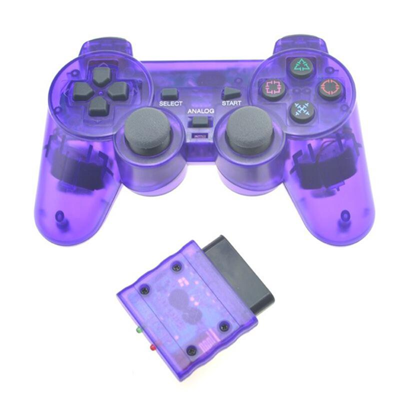 2.4G Bluetooth Wireless Gamepad For Sony PS2 analog Vibration Controller Gamepad For Sony Playstation 2 Controller Joystick image