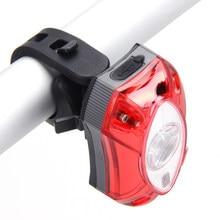 3w usb recarregável luz traseira da bicicleta à prova dwaterproof água lanterna traseira acessórios da bicicleta