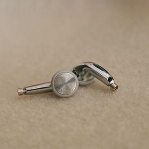 Image 4 - 15.4mm Detachable MMCX Pin Headphone 3 Way Balanced Flat Headphone DIY Headset Silver Shell Case Earbuds