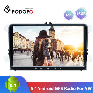 Podofo 2 Din Android For VW Ca