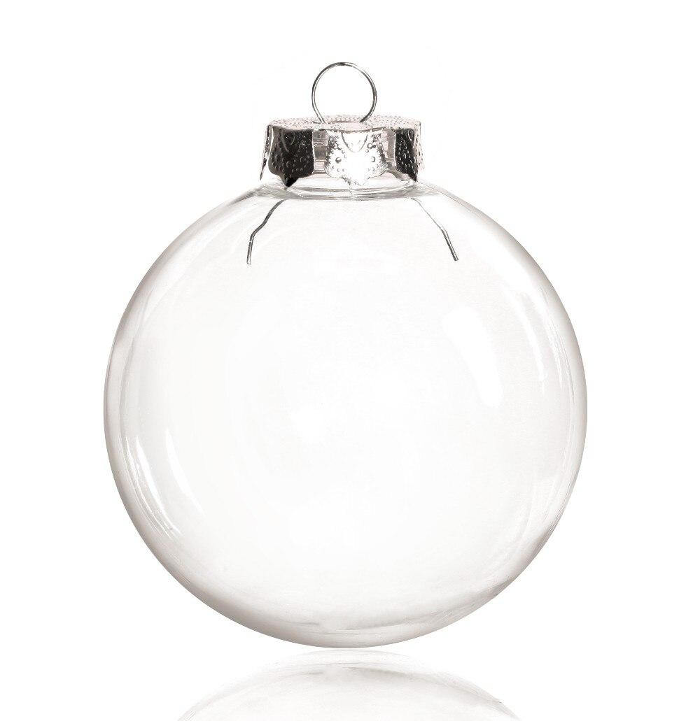 SG ตกแต่งคริสต์มาส 80 มม.ลูกบอลพลาสติก,700/Pack-ใน ลูกบอลประดับ จาก บ้านและสวน บน   1