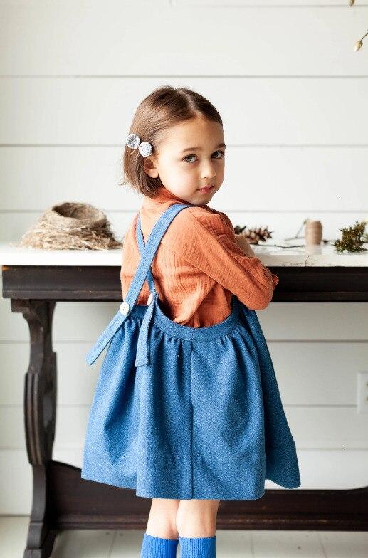 2021 Kids Clothes Toddler Girls Knitted Sweater Winter Dress Boys Leggings Winter Fashion Brand Tops Children Crochet Pullover 3