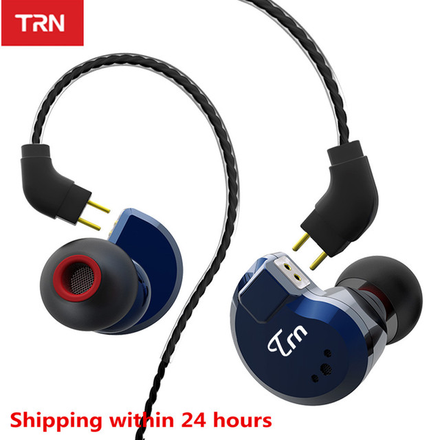 TRN auriculares internos híbridos V80 2DD 2BA, auriculares HIFI Monito para correr, deportivos, con Cable desmontable, ZST V30 ES4 V90 BA5