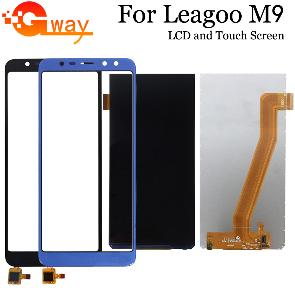 For Leagoo M9 LCD Display+Touch Screen 100% Tested LCD+Digitizer Glass Panel Replacement