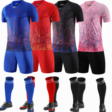 Soccer-Clothes-Sets Football-Jerseys Short-Sleeve Women Adult with Socks