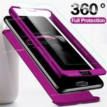 360 градусов противоударный чехол для huawei P Smart P30 Pro/Lite чехол для телефона для huawei P20 Mate20 Lite Nova3 P10 P9 P8 со стеклом