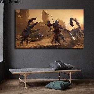 Заклятие фараонов Assassinings Creed Origins плакат холст живопись Настенная художественная декоративная картина домашний декор