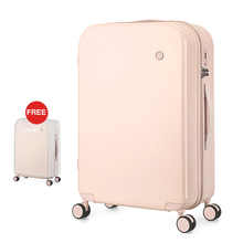 Mixi Women Luggage PC Suitcase Travel Trolley Case Men Mute Spinner Wheels Rolling Baggage TSA Lock Carry Ons M9236