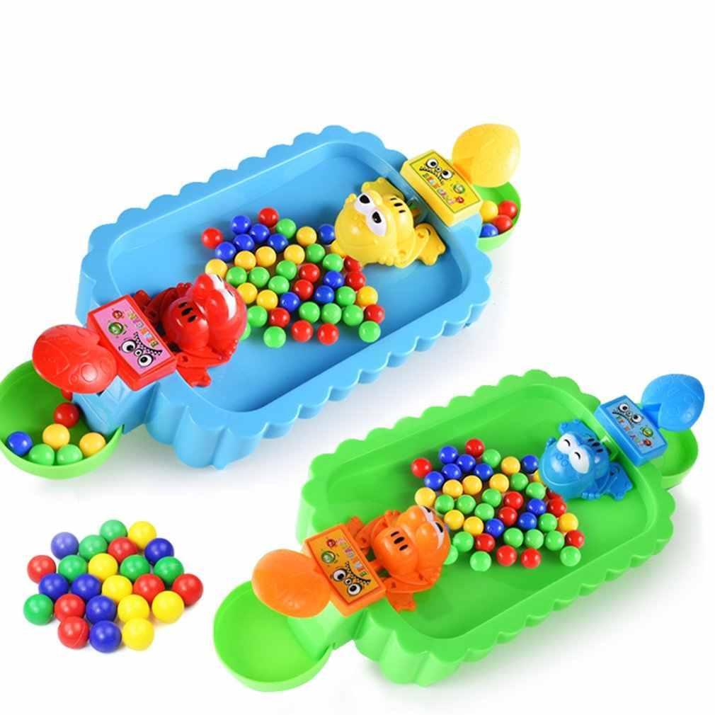 تغذية البلع الخرز الضفادع الأكل الفاصوليا مكافحة الإجهاد عارضة Brainboard ألعاب الوالدين والطفل ألعاب الأطفال التعليمية اللعب