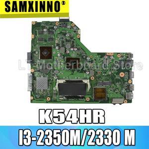 K54HR материнская плата I3-2350M/2330M для ASUS X54H X54HR X54HY K54HR K54LY материнская плата для ноутбука K54HR материнская плата K54HR материнская плата