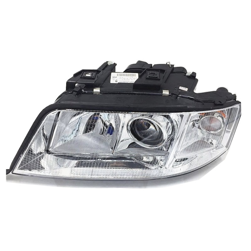 Xenon Headlights Assembly For 1999 2000 2001 2002 Audi A6 C5 Headlamp Assembly With Motor