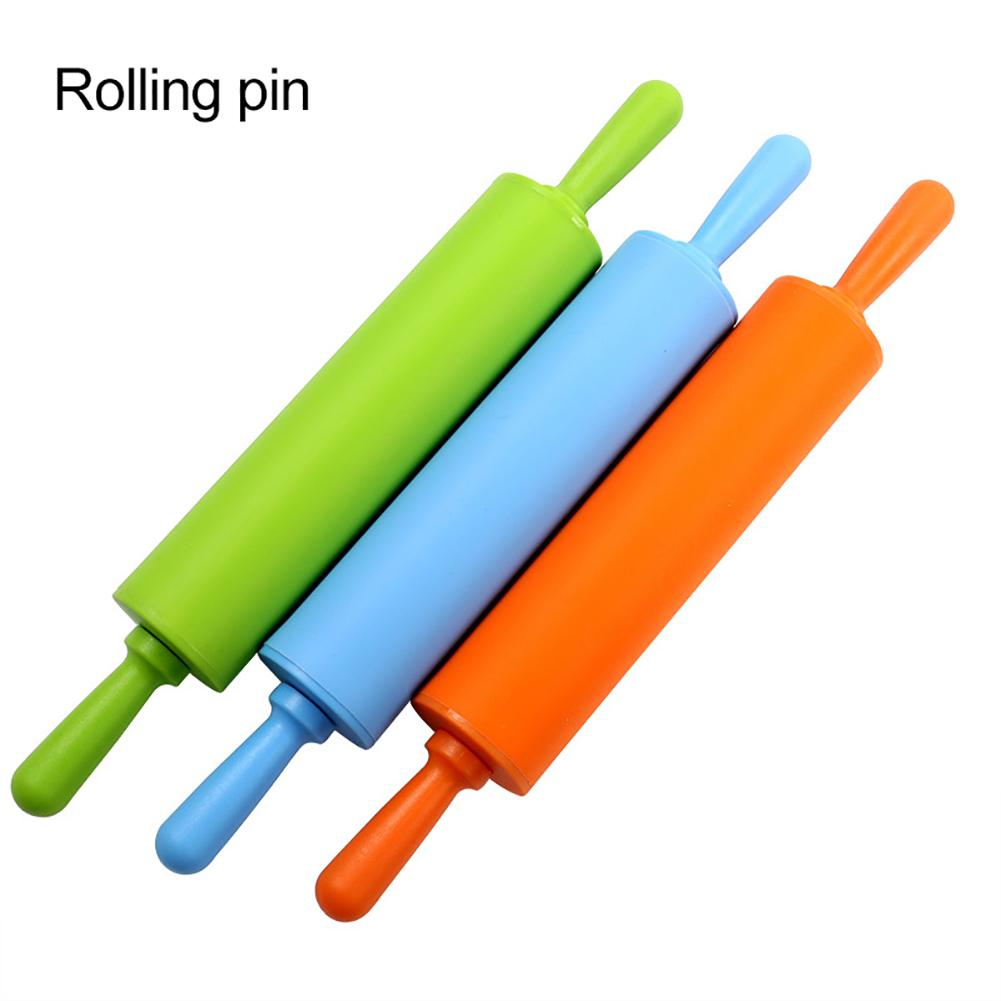 Silicone Rolling Pin Non Stick Dough Cookie Biscuit Pizza Roller Baking Tool Rolling Pins Pastry Boards Aliexpress