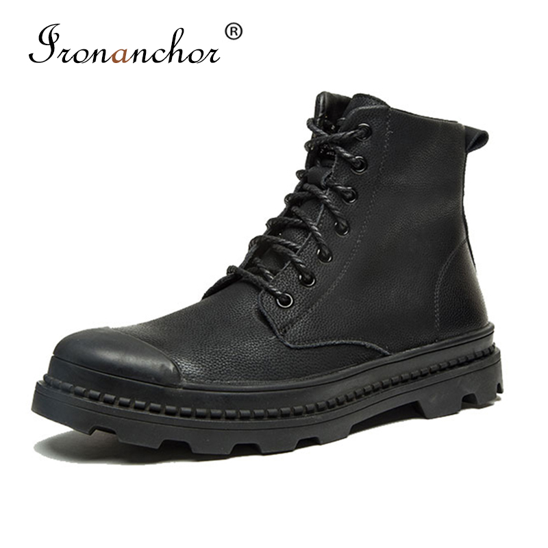 2019 Autumn Men Ankle Boots Fashion Luxury High Quality Rubber Male Boots #PZ2506