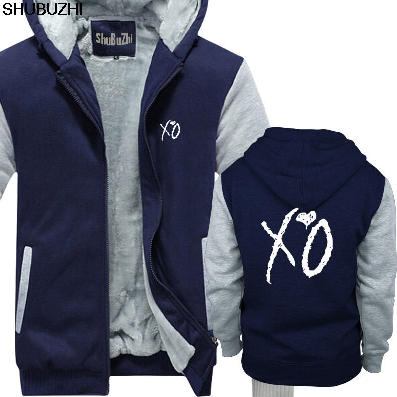 XO The Weeknd | Hoody The Hills Starboy Daft Punk Concert Clothing Hipster Shubuzhi Brand Cotton Thick Hoodies Men Tops Sbz445