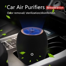 New Arrival USB Car Air Purifier Negative Ion Black Deodorant Smoke Formaldehyde Haze For Home Office And Car Equipment. цена 2017