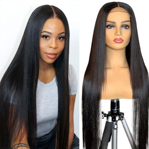 30 Inch Closure Wig Straight Lace Front Human Hair Wig 4x4 Pre Plucked Lace Wig 150 Brazilian Sunlight 13x4 Remy Lace Front Wigs