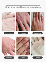 1/2packs Moisturizing Hand Mask Exfoliating Tender and Smooth Gentle Hands Care Hand Mask Cream for Hand Gloves Skin Care 6