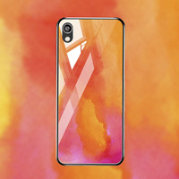 silicone case Tempered Glass Case For Huawei Y5 Y6 pro 2019 Cases Space Silicone Covers for Huawei Y9 Y5 Y7 Y6 Prime 2018 back cover (3)
