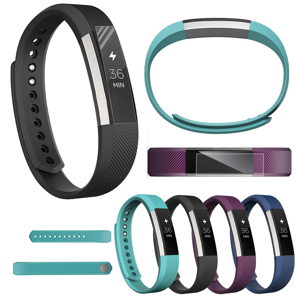 Full Cover Clear Screen Protector Film For Fitbit Alta HR Watch Bracelet Ultra Thin High Definition TPU Material Protective Film