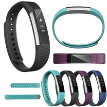 цена на Full Cover Clear Screen Protector Film for Fitbit Alta HR watch Bracelet Ultra Thin High Definition TPU Material Protective Film