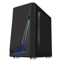 Computer Gaming Chassis Case RGB Computer Case Micro ATX ATX Mini ITX PC Case Desktop Chassis USB 3.0 for Desktop PC