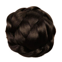 HiDoLA Fashion New Clip in Bun Hair Chignon Wig Ponytail Drawstring Hairpieces  Tail