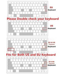 HRH DaVinci разрешение горячие клавиши Клавиатура Обложка кожа для Apple клавиатура с цифровой Проводная клавиатура USB Для iMac G6 DesktopPC проводной