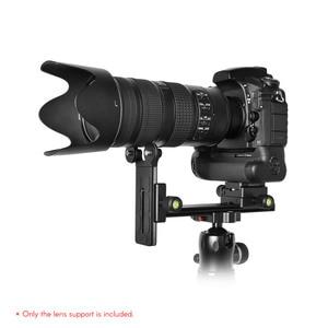 Image 2 - Andoer L200 lente de telefoto, soporte de lente largo, soporte de soporte Compatible para Arca Swiss Sunwayfoto RRS Benro Kirk Markins
