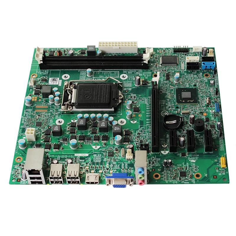 Image 3 - Original For Dell OptiPlex OPX 390 390DT 390MT H61 Desktop motherboard MB Intel LGA 1155 DDR3 MIH61R 0M5DCD 10097 1 48.3EQ01.011-in Motherboards from Computer & Office