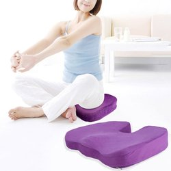 Multifunctional U-Shape Comfort Seat Cushion Memory Foam Hip Lift Seat Cushion Beautiful Butt Latex Seat Cushion Comfy For Home