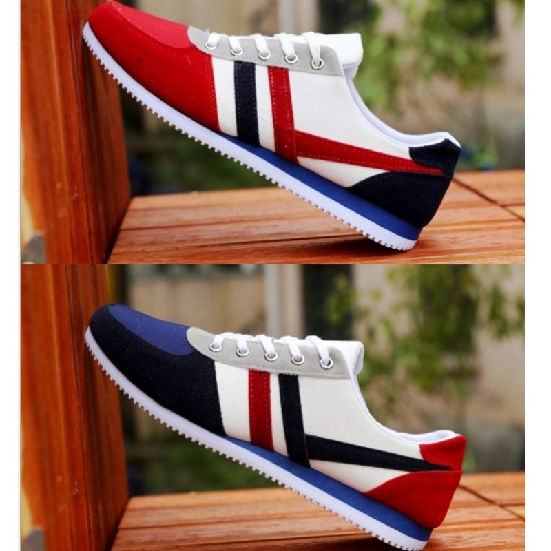 2019 New Men Casual Shoes Lac-up Men Shoes Lightweight Comfortable Breathable Walking Sneakers Tenis Feminino Zapatos Male Shoes 4