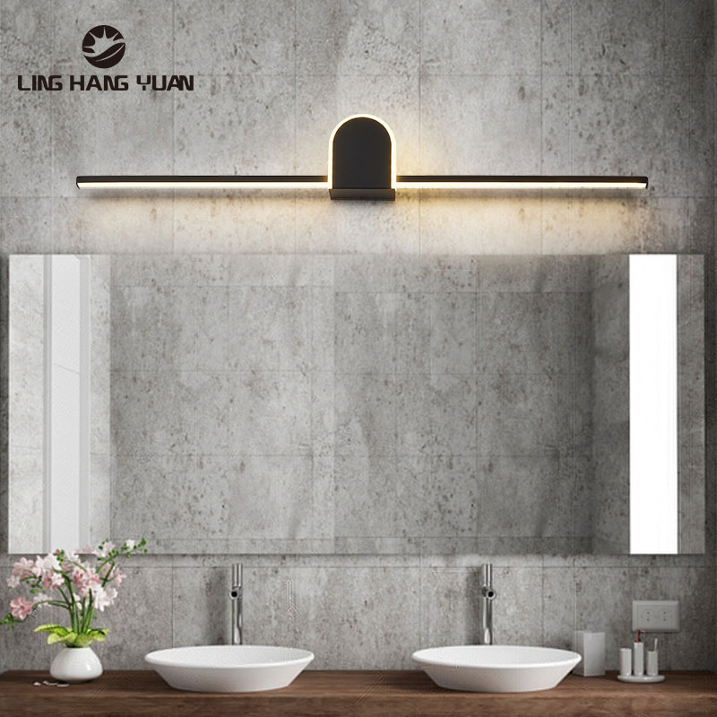 Modern Wall Light Bathroom Lamp 40 60 80cm Large Sonce Wall Lamp For Living Room Bedroom Bathroom Mirror Front Lights Wall Led Led Indoor Wall Lamps Aliexpress