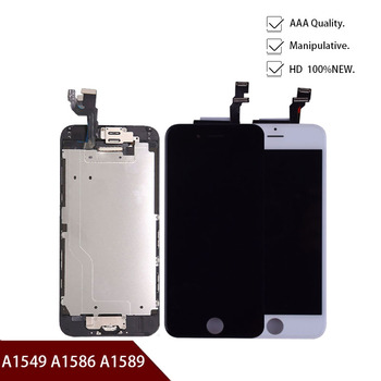 New 4.7 inch LCD For iPhone 6 Display Touch Screen Digitizer Assembly for iPhone 6 6G A1549 A1586 A1589 LCD Screen Replacement image
