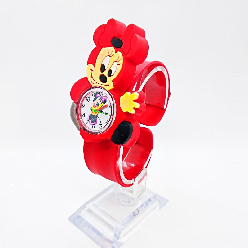 Relogio Infantil Mickey Watch Children Gift Waterproof Kids Watches Rubber Quartz Children's Watch For Girls Boys Kid Clock Baby