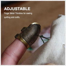 Sewing Thimble Finger Protector Home Accessoeries DIY Antique Thimble Sewing Tool