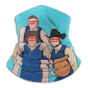Кинжал, Кристап и лука 3d бандана уход за кожей лица шею мягкий флис маска спортивный шарф спортивные баскетбольные Кристапс Порзингис