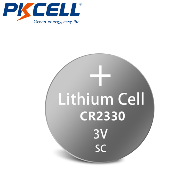 40pcs/lot PKCELL CR2330 Button Batteries BR2330 ECR2330 Cell Coin Lithium Battery 3V CR 2330 For Watch Electronic Toy Remote image