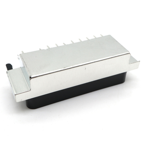 Image 4 - CS 107 PBE 21Pin way SCART Jack set top set top box STB Socket Connector With shield  double dual row pcb mount