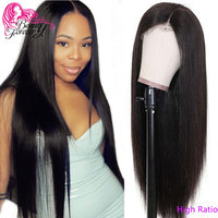 Beauty Forever 13*4/6 Brazilian Straight Lace Front Wig Remy Human Hair High Ratio 360 Lace Front Wigs 150% 180% Density